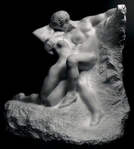 Originally from the late 19th Century, Rodin completed this marble version in 1907.